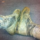 Boots of an Infantryman. by AndrewOrvin