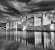 Leeds Castle Reflections by Chris Thaxter