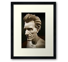 An Andrew Jackson Bust Framed Print