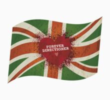 One Direction - Forever Directioner Flag by Adriana Owens