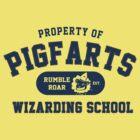 Starkid: Pigfarts wizarding school (blue) by Wipi Oly