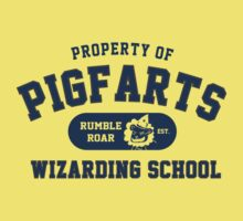 Starkid: Pigfarts wizarding school (blue) by Piwoly