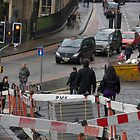 Repair work on the streets of Edinburgh by ashishagarwal74