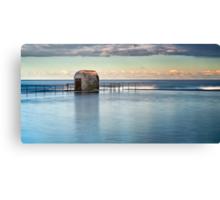 Merewether Ocean Baths - Pump house Canvas Print