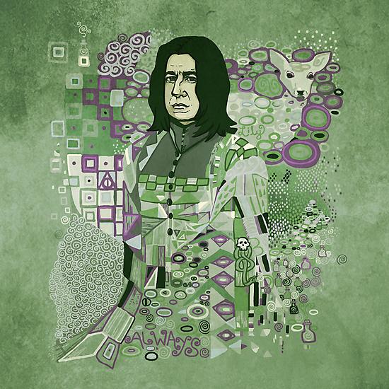 Portrait of a Potions Master by Karen  Hallion