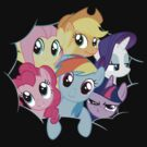 Mane Six (Massive) by Xyler