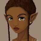 Elf With Short Fro by Shakira Rivers