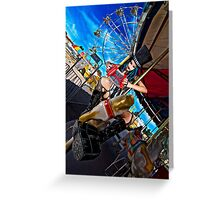 Crazy Carnival Greeting Card