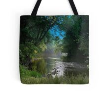 2316-Johns Creek at the Other End Tote Bag
