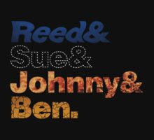 (Enhanced Design) FF- Reed, Sue, Johnny & Ben by Megatrip