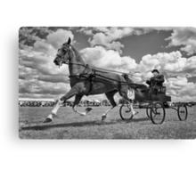 One Horse Power Canvas Print