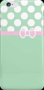 Tiffany & Co. Inspired Polka Dot Case by Jenifer Jenkins