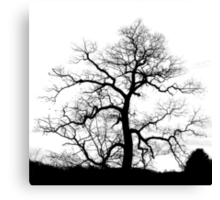 Electric Tree Canvas Print