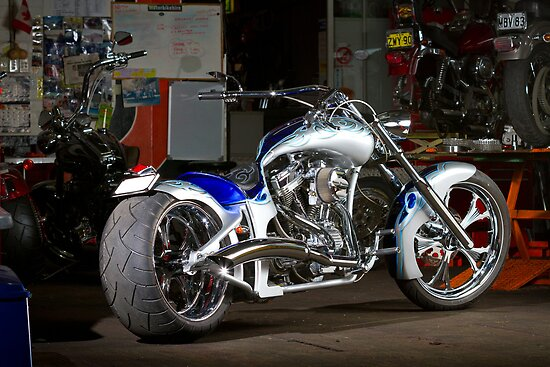 Custom Von Dutch Chopper by HoskingInd