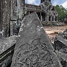 Bayon, Cambodia by Michael Treloar