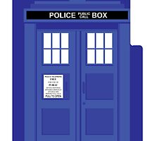 Tardis iPhone case by superiorgraphix