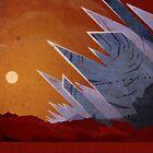 Planum Boreum - Mars - Travel Poster by Ron Guyatt