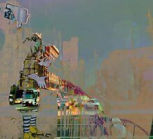 melbourne... fragments: swanston street by sebastian