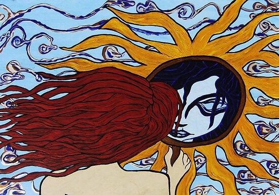 Sun Mirror by Clayton Colgin
