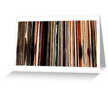 Vinyl Junkie Adventures Greeting Card