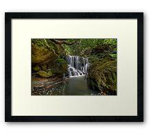 Way down the Cascades. Framed Print