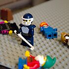 Lego Hockey Player by Luke Dart