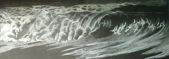 night waves by Hannah Clair Phillips