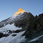 Matterhorn, East face by Roy Martin Lindman