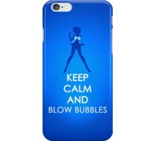 Keep Calm - Sailor Mercury Iphone Case 2 iPhone Case/Skin