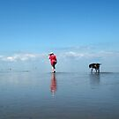 A walk along the Beach  by Addo-pix