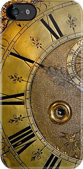 Brass Clock Face by John Evans