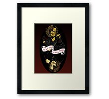 Do We Have a Deal, Dearie? Framed Print