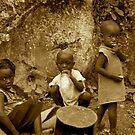 Haitian Children by Adam Northam