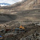 Himalayan monastery - Muktinath by Richard  Stanley