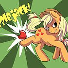 Applebuckin' Applejack by Chrissy Noquet