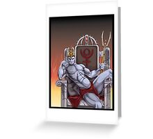 Hades Enthroned Greeting Card