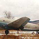 Curtiss C-46 Commando by Ross Sharp