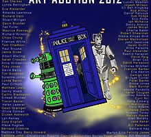 The Ultimate Dr Who Art Auction 2012 by Twelveby12 by Kristen McLachlan