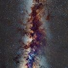 The Milky Way: from Scorpio and Antares to Perseus by Guido Montanes