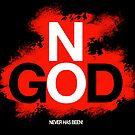 NO GOD by peter chebatte