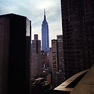 Empire State - View through the Buildings by SylviaS