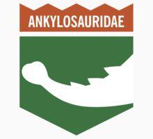 Dinosaur Family Crest: Ankylosauridae by David Orr