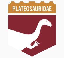 Dinosaur Family Crest: Plateosauridae by David Orr