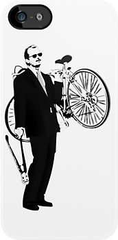 Bill Murray - Bike Thief by Steve Hryniuk