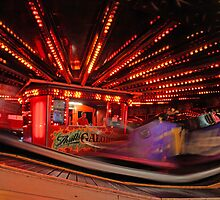 Waltzer on Clacton Pier by Dale Rockell
