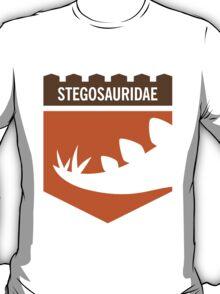 Dinosaur Family Crest: Stegosauridae T-Shirt