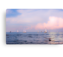 Canvas and Wings Canvas Print