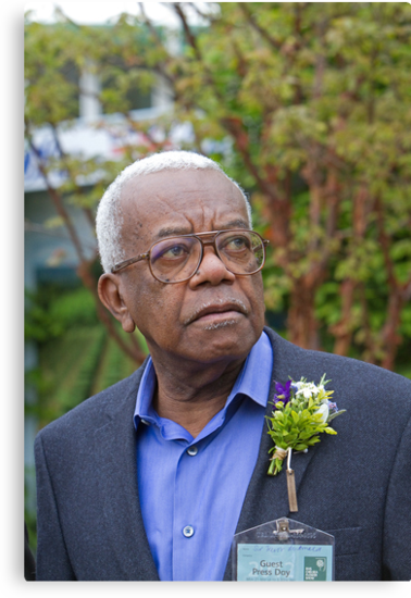Sir Trevor McDonald OBE at the RHS Chelsea flower show 2012 by Keith Larby
