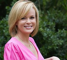 Amanda Holden at the RHS Chelsea Flower show 2012 by Keith Larby