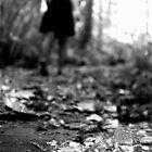 To Wander - Black and White Print by Emily Jones-Blachowicz
